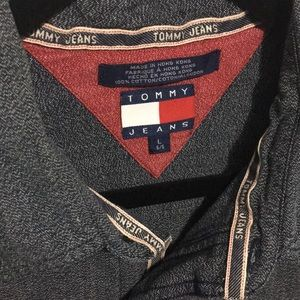 Vintage Tommy Hilfiger Jeans Long Sleeve Shirt